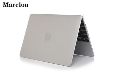 China Transparent Crystal Macbook Laptop Cover Case Greaseproof Keep Running Cool Holes supplier