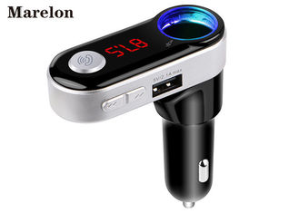 China Independent Bluetooth USB Car Charger Car MP3 Player With FM  Transmitter supplier