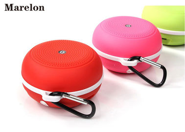 China Stereo Sound Sports Music Bluetooth Speaker, BND Outdoor Wireless Speaker With Carabiner For Corporate Gifts supplier