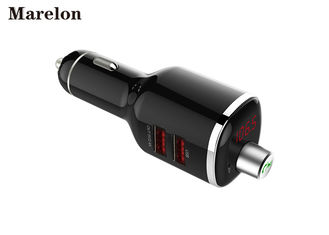 China Fashion Bluetooth Car Charger / Universal Smartphone Charger Line Audio Input supplier