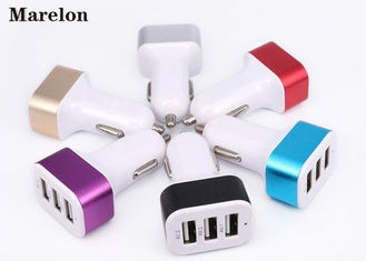 China Data Transfer USB Car Charger / Mobile Phone Charger Prevent Short Circuit supplier