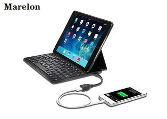 China Ultra Thin Bluetooth Keyboard Leather Case X Structure 700mAh For Ipad supplier