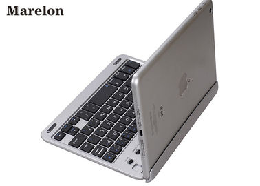 China Silver Folding Ipad Air Keyboard Case / PU Leather Case ABS Bottom Material supplier