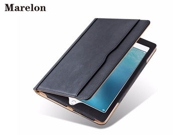 China Durable Leather Ipad Air Case / Apple Ipad Air 2 Smart Case With Wallet Stand supplier