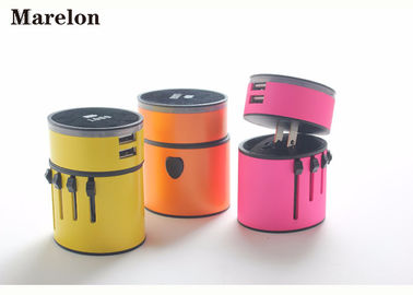China Promotional Hotel Gifts International Travel Adapter Plug Converter LED Logo Print supplier