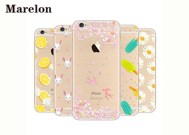 China Apple IPhone 6 6s TPU Phone Case Customized Printing Maintaining Phone Sleek Look supplier
