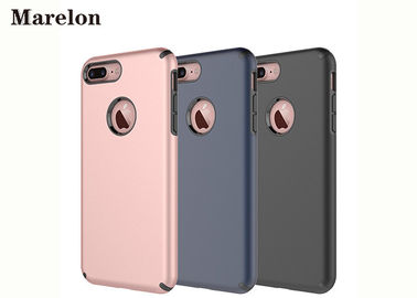 China Dual Layer Slim TPU Phone Case Cover / 5.5 Inch Phone Case For Apple IPhone 7 supplier