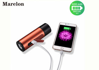 China Outdoor Sports USB Power Bank Flashlight 5200mah With Wireless Bluetooth Speakers supplier