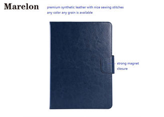 China Rotatable PU Leather Ipad Air Case 2 Card Slots With Strong Magnet Buckle supplier