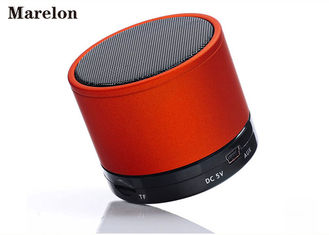 China Metal FM LED Music Bluetooth Speaker , Bluetooth Music Player High - End Stereo supplier