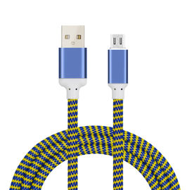 China Fast charging USB Data Cable , Iphone Charging Cable 2.4A USB Phone cable supplier