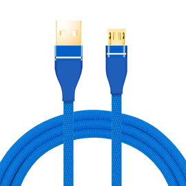 China Fast Charging USB Data Cable Nylon Braid Material 8 Pin For IPhone supplier