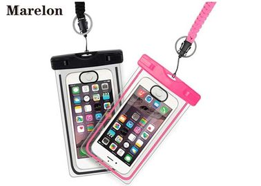 Transparent Swimming Waterproof Cell Phone Cases With Lanyard Strap