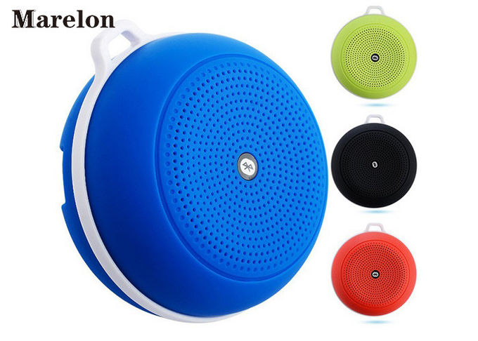 Stereo Sound Sports Music Bluetooth Speaker, BND Outdoor Wireless Speaker With Carabiner For Corporate Gifts