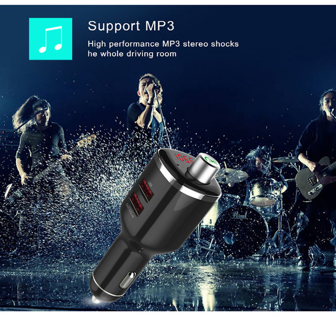 Car MP3 Player FM Transmitter Bluetooth Car Audio Adapter Automatic Power - Off Memory