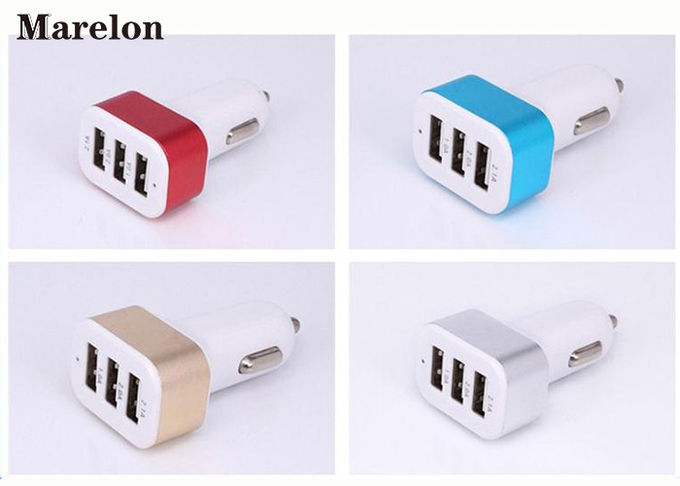 Data Transfer USB Car Charger / Mobile Phone Charger Prevent Short Circuit