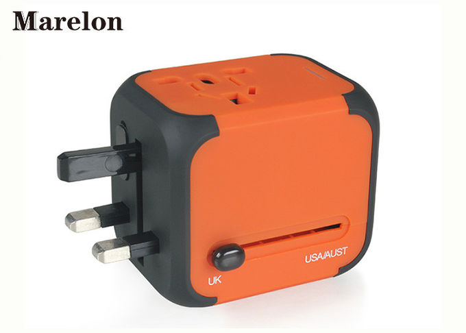 10A PC Material Travel Power Adapter Compatible With Electrical Devices