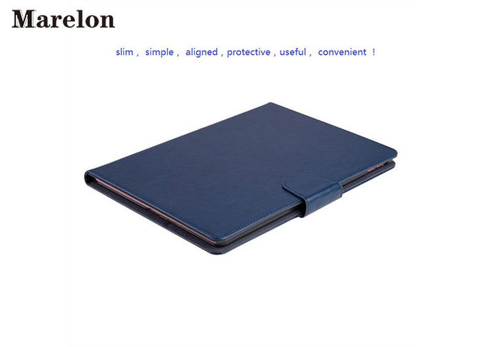 Rotatable PU Leather Ipad Air Case 2 Card Slots With Strong Magnet Buckle