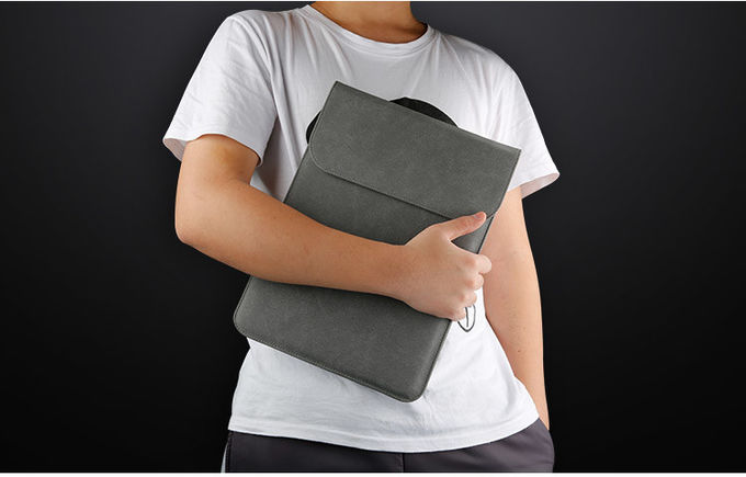 Practical Leather Fashion Laptop Sleeve , Notebook Case Bag Waterproof