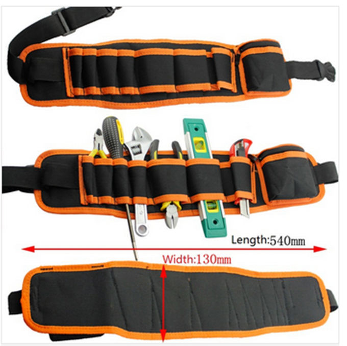 Multifunction Maintenance Electrician Tool Bag With Water Resistant Canvas