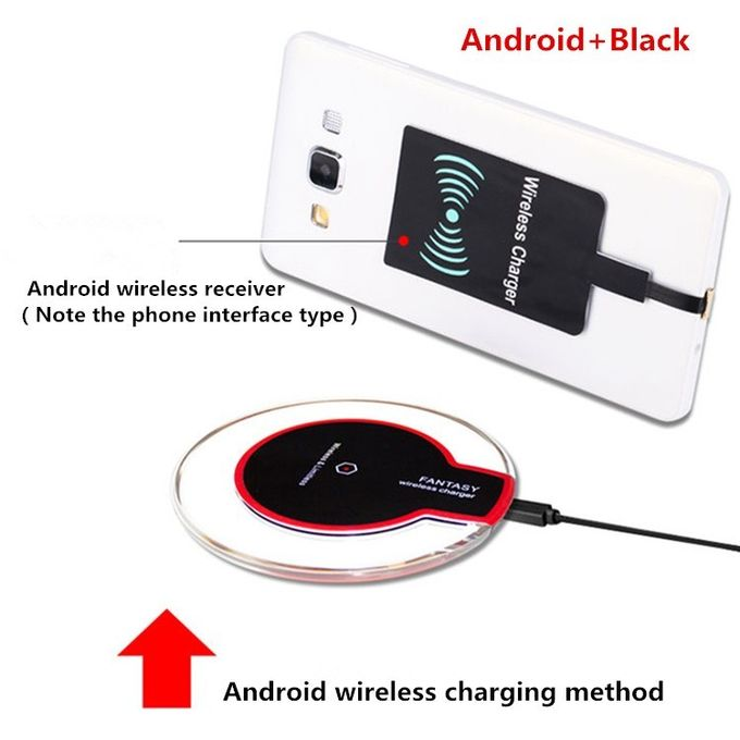 Qi fast fantasy mobile wireless charger for android / fast charge wireless charging pad